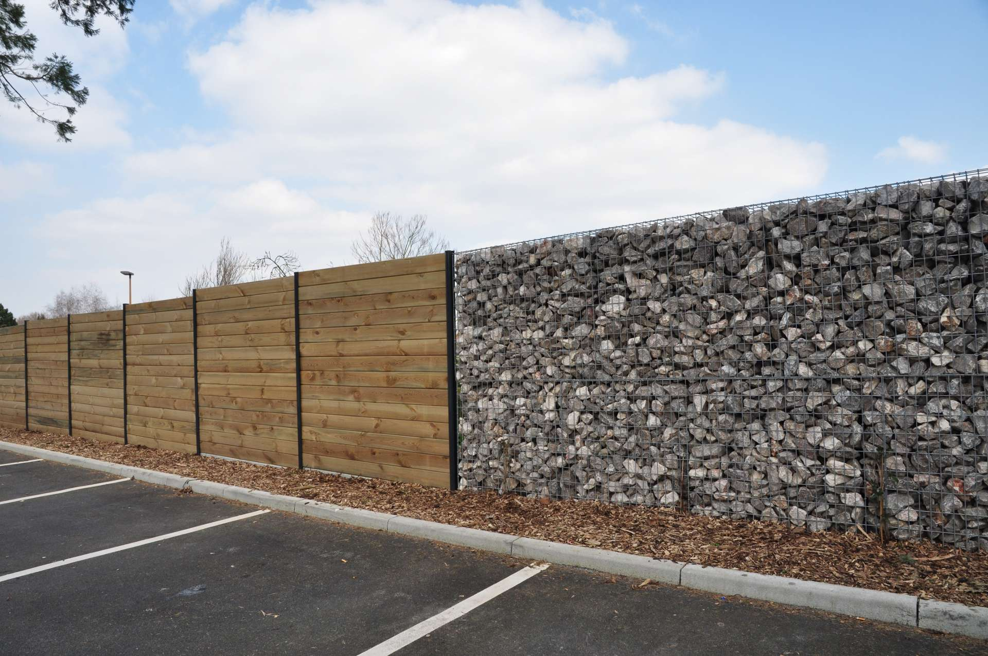 Mur anti bruit jardin beautiful with mur anti bruit for Jardin 2000 reims